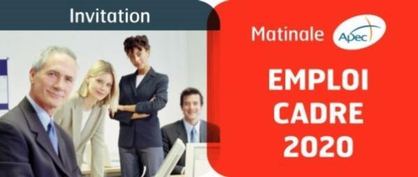 Matinal APEC, emploi cadre 2020