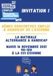 6ème Rencontre Emploi & Handicap de l'Essonne