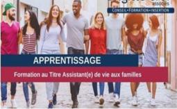 Formation d'assistant(e) de vie aux familles en apprentissage