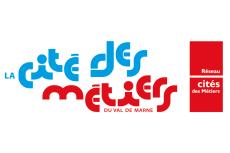 Logo officiel de la Cité des métiers du Val-de-Marne