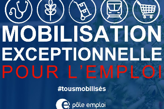 Mobilisation exceptionnelle pour l'emploi