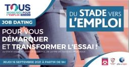 Jobdating Du stade vers l'emploi Bordeaux