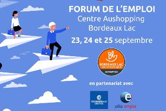 Forum de l'emploi - Centre Aushopping Bordeaux Lac