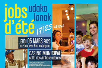 Forum Jobs d'été - 5 mars - Biarritz