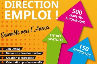 Salon Direction Emploi - 20 et 21 mars - Angoulême (16)