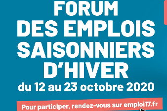 Forum des emplois saisonniers d'hiver en Charente-Maritime