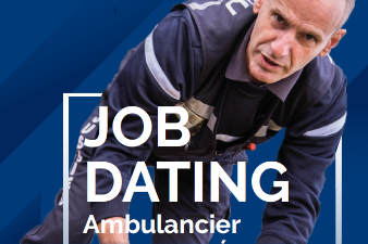 Jobdating Ambulancier diplômé d'Etat (h/f)
