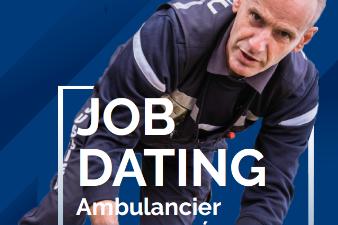 Jobdating Ambulancier diplômé d'Etat (h/f)