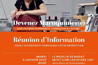 Information recrutement - Métier de maroquinier(e)