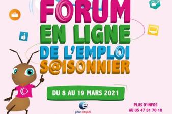 Forum de l'emploi saisonnier - Mimizan (40)
