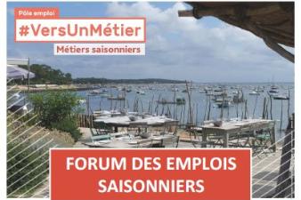 Forum des Emplois Saisonniers - 9 mars - Saint-Georges d'Oléron (17)