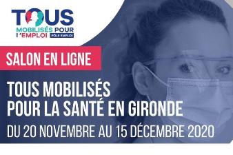 Salon en ligne Métiers de la santé du 20 novembre au 15 décembre