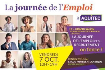 La Journée de l'emploi by Aquitec - 15 oct. - Bordeaux