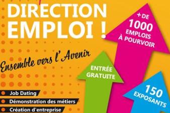 Salon Direction Emploi à Angoulême