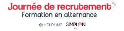 Journée de recrutement - Formation en alternance Helpline en partenariat avec Simplon