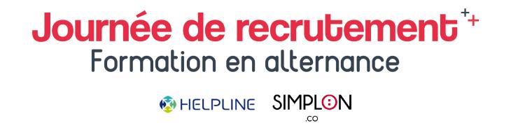 Job dating Alternance - Simplon & Helpline