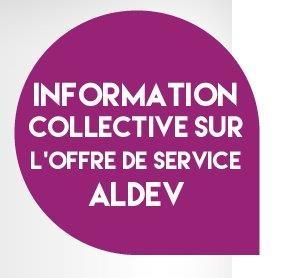 Informations collectives sur les services emploi d'Aldev