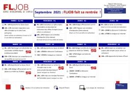 FLJOB  fait sa rentrée : les ateliers de septembre 2021