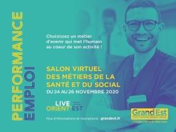 Salon Virtuel des métiers de la Santé et du Social