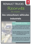 Renault Trucks recrute des retoucheurs véhicules industriels