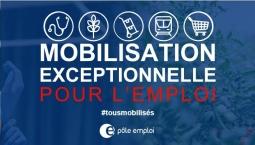 COVID 19 - Mobilisation exceptionnelle pour l'emploi