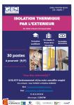 30 POSTES A POURVOIR : Monteur en isolation thermique par l'extérieur