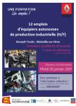12 Emplois d'équipiers autonomes de production industrielle (H/F)