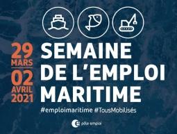 Semaine de l'Emploi maritime du 29 mars au 2 avril
