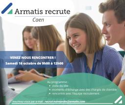 Armatis recrute 100 nouveaux collaborateurs à Caen