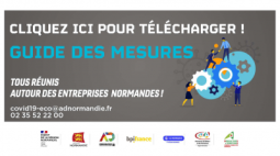 Covid-19 : guide des mesures, informations et contacts pour les entreprises normandes
