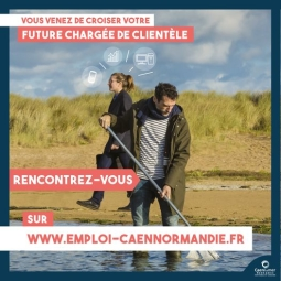 Candidats, recruteurs ... rencontrez vous sur www.emploi-caennormandie.fr