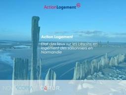 Participez à l'étude sur les besoins enlogementsdes saisonniers en Normandie