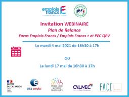 Plan de relance Jeune - Emplois francs, emplois francs - Parcours emploi et compétences