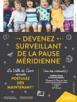 La ville de Caen recrute des surveillants de la pause méridienne