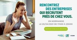 e-Job Dating organisé par WIZBII et le @Crédit Agricole Normandie