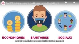 Covid-19 : Action Logement aide les salariés en difficulté