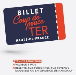 Hauts-De-France - Billet Coup de pouce