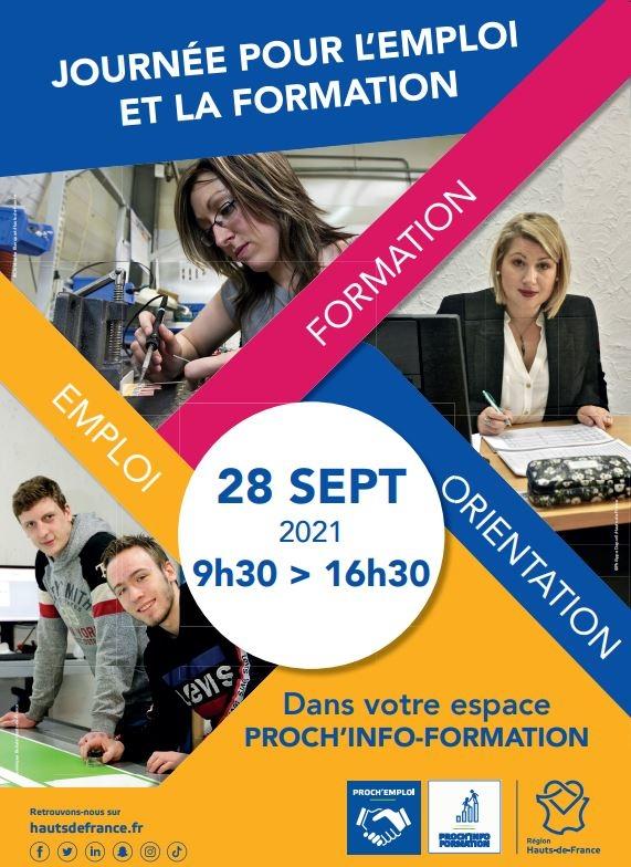 Affiche 1ère Porte Ouverte PRIF (Proch'Info Formation) Clermont