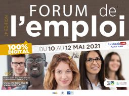 LE FORUM DE L'EMPLOI 2021 - JOB D'ETE