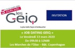 [JOB DATING] GEIQ À DOMICILE, MONTATAIRE