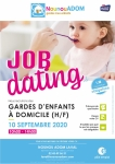 Job dating Gardes d'enfants à domicile (H/F)