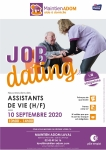 Job dating assistant de vie