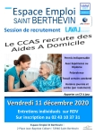Session de recrutement CCAS de Laval