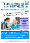 Session de recrutement CCAS de Laval