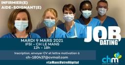 JOB DATING Hôpital du Mans