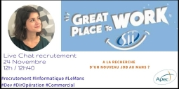 Live Chat Recrutement Informatique