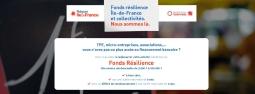 Fonds Résilience Île-de-France & Collectivités