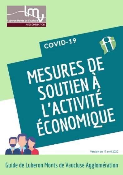 Guide des mesures de soutien à l'activité économique