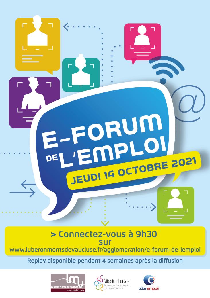 affiche du e-forum