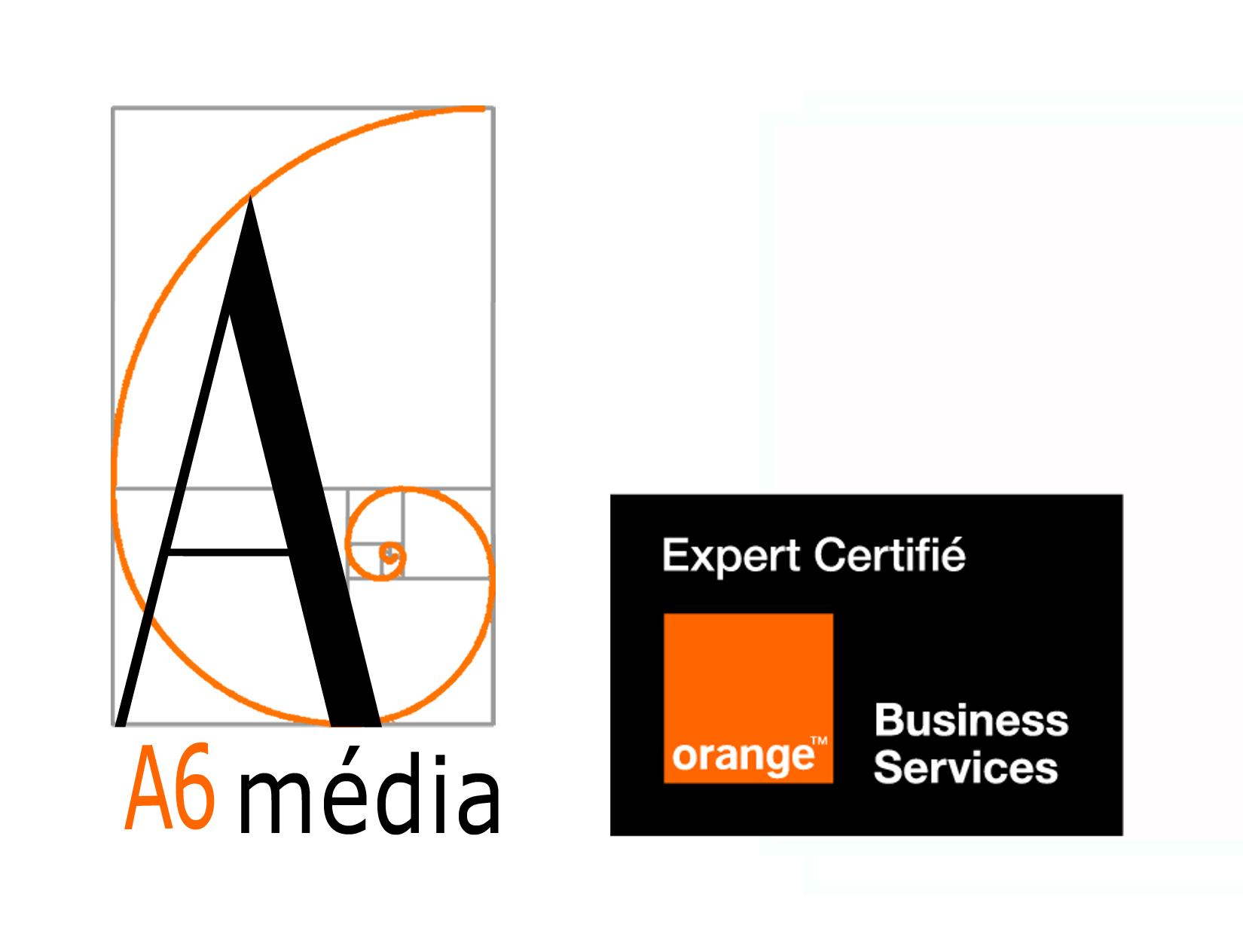 Logo A6 média